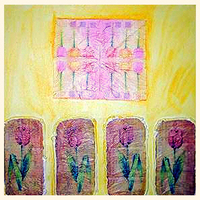 Collage Blumen