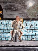 Paar wird von einem Spanner beobachtet