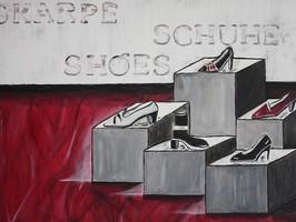Stiefel, Pumps, Sandalen